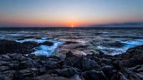 Seascape skały plaża w Sinop, Turcja Obraz Stock