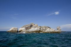 Seascape with small island, Koh Lipe, Thailand Stock Photos