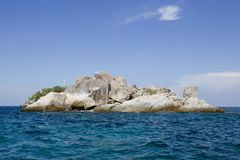 Seascape with small island, Koh Lipe, Thailand Royalty Free Stock Photo