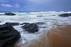 Seascape som tas i Sydafrika Royaltyfria Foton