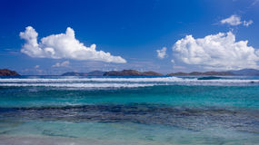 Seascape from St Thomas Stock Photography