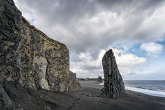 Seascape in the Stokknes area, Iceland Stock Photo