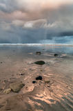 Seascape Storm Clouds Royalty Free Stock Photography