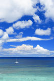 Seascape at summer Royalty Free Stock Image