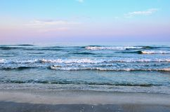 Seascape in summer Royalty Free Stock Images