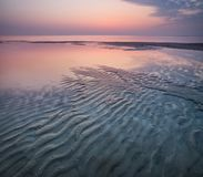 Seascape in the summer time Royalty Free Stock Images