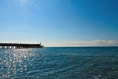Seascape. Sunny day. Royalty Free Stock Image