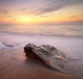 Seascape sunset. Royalty Free Stock Photos