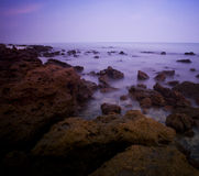 Seascape before sunset in Thailand Stock Photos