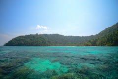 Seascape  at Surin national park khao lak,Phang-nga, Thailand Royalty Free Stock Image