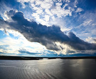 Seascape in Sweden stock photography