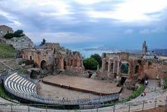 Seascape Taormina Στοκ φωτογραφία με δικαίωμα ελεύθερης χρήσης