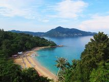 Seascape at south of Thailand Stock Photography
