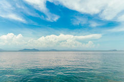 Seascape. At thailand,Andaman Sea in Chumphon, Thailand Royalty Free Stock Image