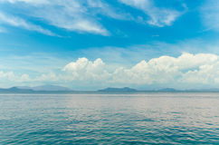 Seascape. At thailand,Andaman Sea in Chumphon, Thailand Stock Photos