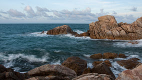 Seascape. In Thailand, taken from the North of Koh Pangan Royalty Free Stock Photography