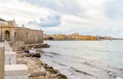 Seascape of Trapani, Italy Royalty Free Stock Photo
