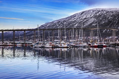 Seascape of Tromso, Norway. Stock Images
