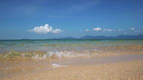 Seascape tropical de turquesa video estoque
