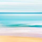 Seascape tropical do oceano imagens de stock