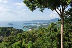 Seascape tropical Phuket foto de stock royalty free