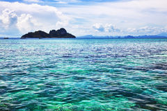 Seascape. Turquoise Water Royalty Free Stock Photography