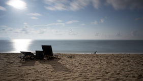 A seascape view during morning Royalty Free Stock Images