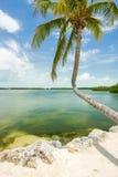 Florida Keys seascape. Seascape view of the popular Florida Keys along the bay stock photo