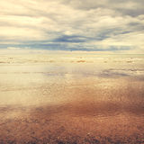 Seascape vintage effect Royalty Free Stock Photos