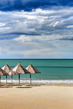 Seascape: Włochy, Abruzzo, Pescara południe Marina Obraz Royalty Free