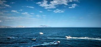 Seascape w Crimea fotografia stock
