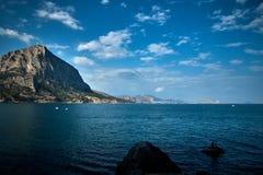 Seascape w Crimea zdjęcie royalty free