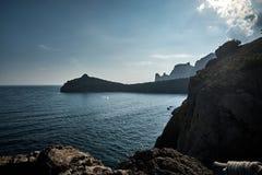Seascape w Crimea fotografia royalty free