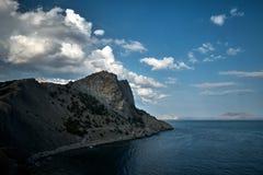 Seascape w Crimea zdjęcia royalty free