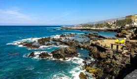 Seascape w Hiszpania Obrazy Royalty Free