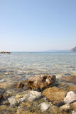 Seascape w Montenegro Obraz Royalty Free
