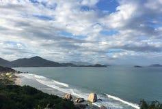 Seascape w Nha Trang, południowy Wietnam Obraz Royalty Free