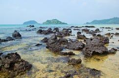 Seascape w słonecznym dniu Zdjęcie Stock