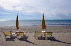 Seascape w zimie Obraz Royalty Free