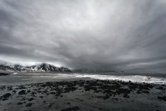Seascape in Western Iceland. Dramatic seascape at Snaefellsnes Penninsula, Western Iceland Stock Images