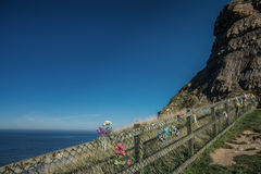 Seascape Whitby στο Γιορκσάιρ Αγγλία UK Στοκ φωτογραφίες με δικαίωμα ελεύθερης χρήσης