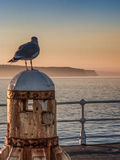 Seascape Whitby στο Γιορκσάιρ Αγγλία UK Στοκ φωτογραφία με δικαίωμα ελεύθερης χρήσης