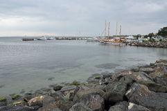 Seascape, Yachts and boats Royalty Free Stock Photography
