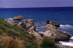 Seascape  in Zakynthos Stock Photo
