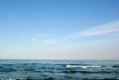 Seascapehimmelhav Royaltyfria Bilder