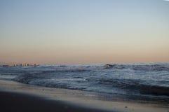 Seascapen i Valenciaen Arkivfoto