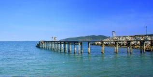 SeascapeRayong strand Fotografering för Bildbyråer
