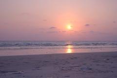 SeascapeRayong strand Royaltyfria Bilder