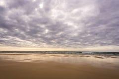Seascapes пляжа Eoropie, остров Левиса, Шотландии стоковое изображение