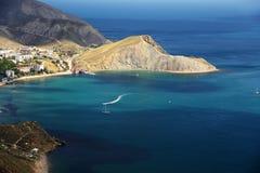 Seascapes eastern Crimea. Summer seascapes eastern Crimea, Ukraine stock photography